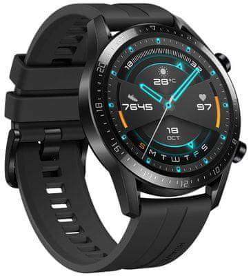 Inteligentné hodinky Huawei Watch GS 2, AMOLED displej, vysoké rozlíšenie, dlhá výdrž, elegantný dizajn, 3D sklo, dobrá čitateľnosť