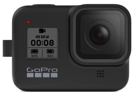 GoPro silikonski ovitek za Hero 8, črn (AJSST-001)