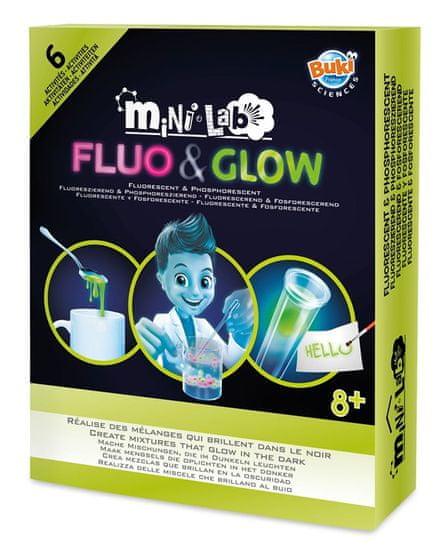Buki France Fluo&Glow experimenty miniLab