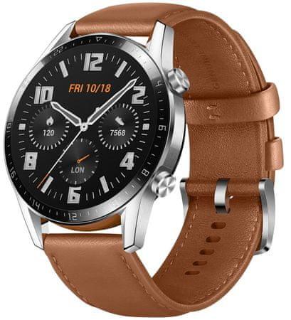 Huawei Watch GT 2 pametna ura, rjava