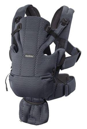 Babybjörn BB Move 3D Mesh ergonomična nosilka, svetlo siva - Odprta embalaža