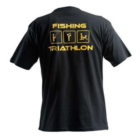 Doc Fishing DOC Triko TRIATHLON - černá Velikost: XL