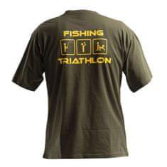 Doc Fishing DOC Triko TRIATHLON - zelená