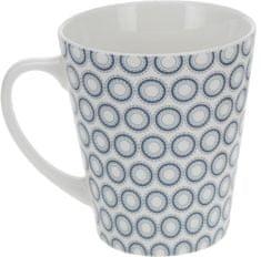 EXCELLENT Hrnek 320 ml, modré kroužky