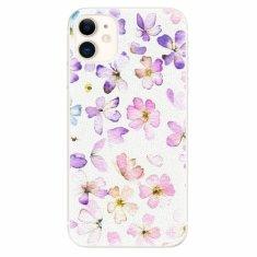 iSaprio Silikonové pouzdro - Wildflowers - iPhone 11