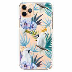 iSaprio Plastový kryt - Parrot Pattern 01 - iPhone 11 Pro Max