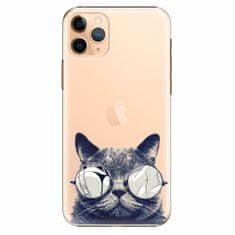 iSaprio Plastový kryt - Crazy Cat 01 - iPhone 11 Pro Max
