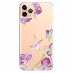 iSaprio Silikonové pouzdro - Purple Orchid - iPhone 11 Pro Max