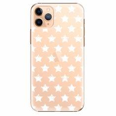 iSaprio Plastový kryt - Stars Pattern - white - iPhone 11 Pro Max