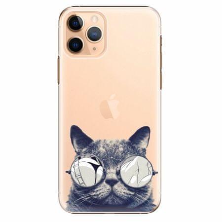 iSaprio Plastový kryt - Crazy Cat 01 - iPhone 11 Pro