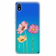 iSaprio Silikonové pouzdro - Three Flowers - Xiaomi Redmi 7A
