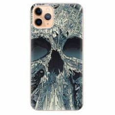 iSaprio Silikonové pouzdro - Abstract Skull - iPhone 11 Pro Max