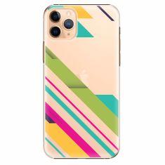 iSaprio Plastový kryt - Color Stripes 03 - iPhone 11 Pro Max