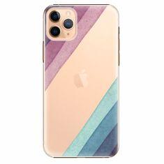 iSaprio Plastový kryt - Glitter Stripes 01 - iPhone 11 Pro Max