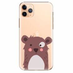 iSaprio Plastový kryt - Brown Bear - iPhone 11 Pro Max