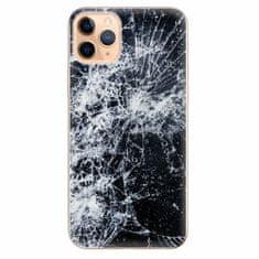 iSaprio Silikonové pouzdro - Cracked - iPhone 11 Pro Max