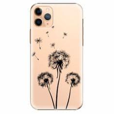 iSaprio Plastový kryt - Three Dandelions - black - iPhone 11 Pro Max