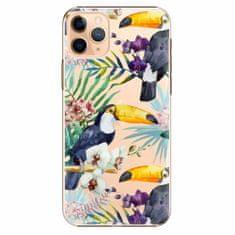 iSaprio Plastový kryt - Tucan Pattern 01 - iPhone 11 Pro Max