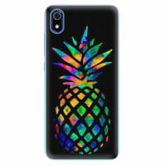 iSaprio Silikonové pouzdro - Rainbow Pineapple - Xiaomi Redmi 7A