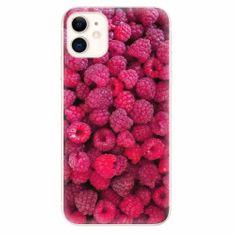 iSaprio Silikonové pouzdro - Raspberry - iPhone 11
