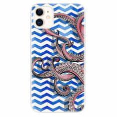 iSaprio Silikonové pouzdro - Octopus - iPhone 11