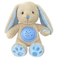 Baby Mix Plyšový králíček s projektorem Baby Mix modrý