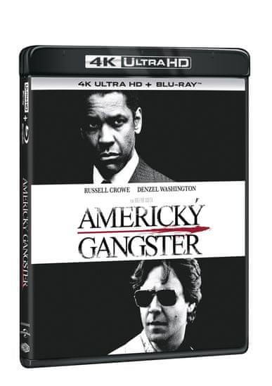 Americký gangster (2 disky) - Blu-ray + 4K Ultra HD