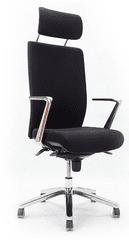 Emagra Kancelářská židle B3L (B3LP K1W18) - čalouněná - černá