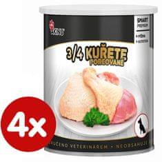 Akinu karma dla psów (pierś z kurczaka) PREMIUM 4 x 800g
