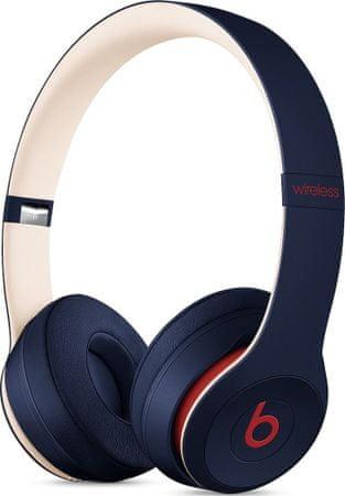 Beats Solo3 Wireless bezdrátová sluchátka, tmavě modrá