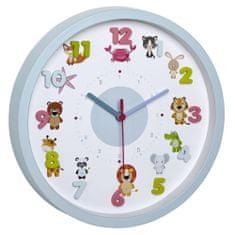 TFA Detské nástenné hodiny TFA 60.3051.14 LITTLE ANIMALS