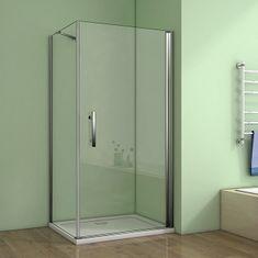 H K Štvorcový sprchovací kút MELODY A1