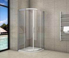 H K Štvrťkruhový sprchovací kút SYMPHONY S4