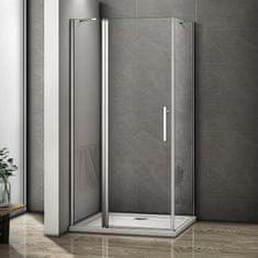 H K Obdĺžnikový sprchovací kút MELODY B5