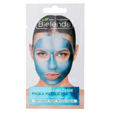 Bielenda Prof. Detoxikační hydratační maska pro suchou a citlivou pleť Blue Detox (Detoxifying Face Mask) 8 g