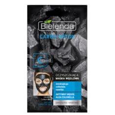 Bielenda Prof. Čisticí maska s aktivním uhlím pro suchou a citlivou pleť Carbo Detox (Cleansing Carbon Mask) 8 g