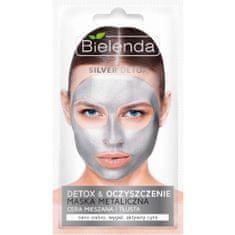 Bielenda Prof. Detoxikační čisticí maska pro mastnou a smíšenou pleť Silver Detox (Detoxifying Face Mask) 8 g
