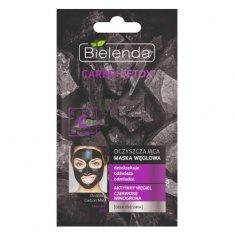 Bielenda Prof. Čisticí maska s aktivním uhlím pro zralou pleť Carbo Detox (Cleansing Carbon Mask) 8 g