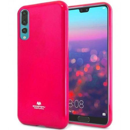 Goospery Jelly ovitek za Huawei P Smart Z / Y9 Prime, sillikonski, roza