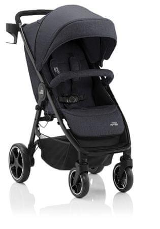 Britax Römer otroški voziček B-Agile M Black Shadow 2020, črn
