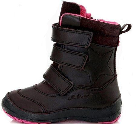D-D-step gyerek téli csizma 31 fekete