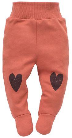 PINOKIO Little Bird dekliške hlače, 56, oranžne