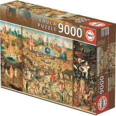 Educa Puzzle 9000 dílků zahrada