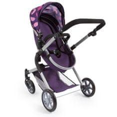 Bayer dětský kočárek City Neo pro panenky - fialová