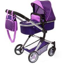Bayer dětský kočárek Neo Vario pro panenky - fialová