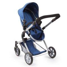 Bayer dětský kočárek City Neo pro panenky - modrá