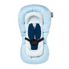 Béaba dětský polštář s oporou hlavy - námořnická modrá