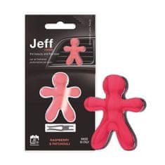JEFF červený chrome Raspberry & Patchouli
