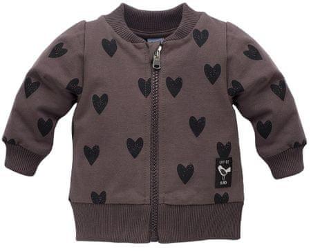 Pinokio Little Bird lány pulóver 86 dark grey