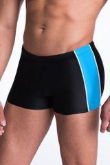 PRIMO Pánské plavky boxerky Hector černomodré